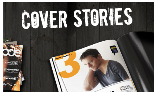Channing Tatum Unwrapped Website: Detail