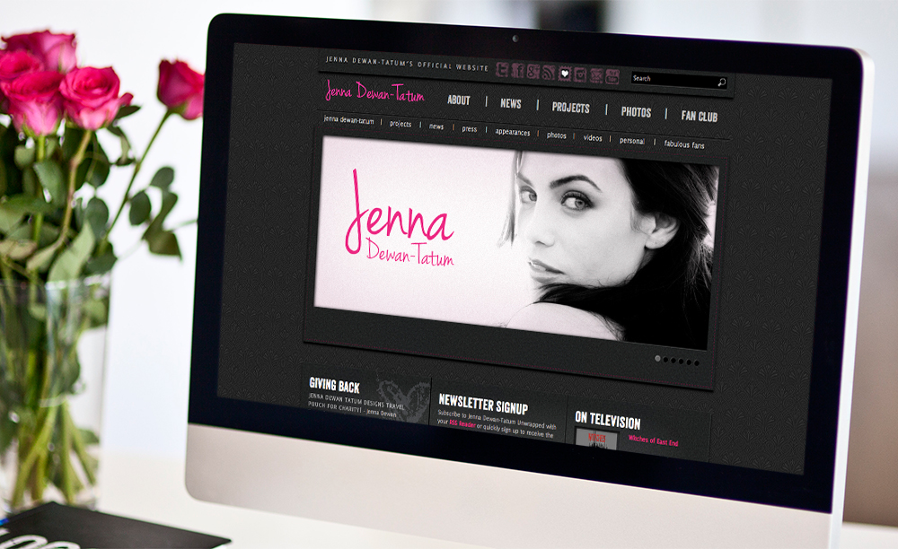 Jenna Dewan-Tatum Official Website