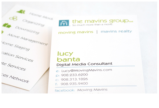 The Mavins Group: Business Cards