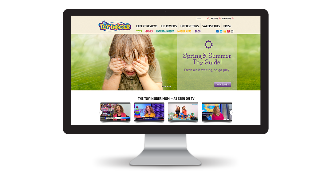 The Toy Insider Website: Home